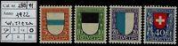 Svizzera - 1922 - Pro Juventute - nuova MNH - Unificato nn.188/191