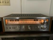 Pioneer SX-580 Stereo Receiver Silver Face XLNT