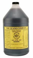 Budswel Liquid 1 gallon 1g Bat Guano nutrient supplement organic fertilizer