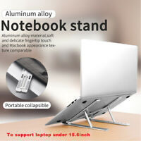 Portable Adjustable Travel Laptop Stands Foldable Desktop Notebook Holder
