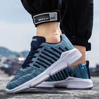 Men's Running Shoes Walking Sports Shoes Casual Breathable Athletic Sneakers New