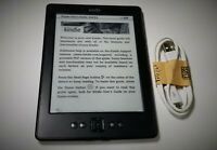 Amazon Kindle (4th/5th Generation) 2GB, WiFi, 6in, D01100, Black, eReader