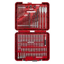 Craftsman 100 Pc Drill Bits Handy Tool Case Kit Home Tools Driver Bit Set Garage