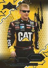 JEFF BURTON AUTOGRAPHED 2009 PRESS PASS STEALTH RACING NASCAR TRADING CARD #6