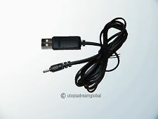 USB DC Cable Cord For Sylvania SP118 BLACK Water Dancing Bluetooth Mini Speaker
