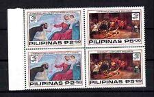 Philippinen 1579/80 ** Viererblock Gemälde Spoliarium