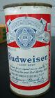 vintage Budweiser 12oz  flat Top Beer Can