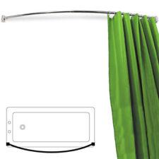 Barras de cortinas de baño curvos