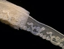 Antique Lace Dainty Salvage Collect Dolls Flounce Costume Projects 2 Yards