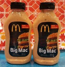 2 Bottles McDonalds Authentic Big Mac Sandwich Sauce FRESH FROM CANADA USA SHIP