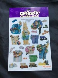 Bunny Magnetic Dress-Up.   Factory Sealed