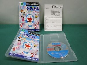 Game Cube DORAEMON Minna de Asbou! Minidoland. postcard. GC. JAPAN. 39588