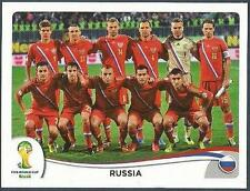 PANINI WORLD CUP 2014- #603-RUSSIA TEAM PHOTO