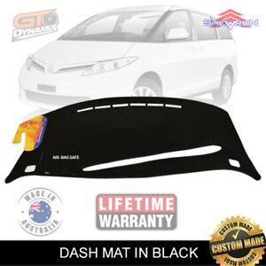 Dash Mat to Suit Toyota Tarago Van 2006 to 2016 GLi GLX ACA50 DM1039 BLACK+CHARC