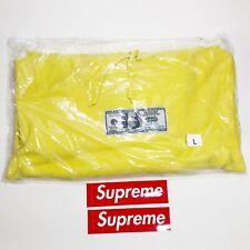 Supreme Franklin Hooded Sweatshirt Lemon Yellow Size Large SS20 Brand New