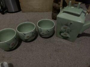 ornamental teapots