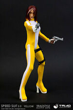 Triad Toys Speed Suit 2.0 (Yellow) Female Outfit Set 1/6th Sixth Scale Accessory