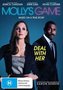 Mollys Game DVD