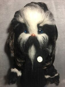 Ooak Custom Furry Art Doll Disney Toddler Upcycle Creature Dog Wookie