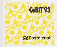 Federal MH 28 B ** markenheftchen cebit 1993, correos frescos, mnh