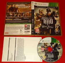 ARMY OF TWO THE DEVIL'S CARTEL XBOX 360 Versione Italiana 1ª Ed ○ COMPLETO - FG