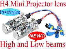 H4 Mini xenon Bi-xenon HID projector lens headlight kit Lamp Light Bulb HB2 9003