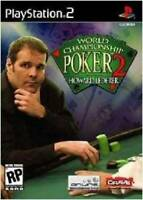 World Championship Poker 2 with Howard Lederer - PlayStation 2 - VERY GOOD