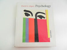 PSYCHOLOGY DAVID G MYERS 4TH ED TEXTBOOK