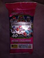 2020 Panini Rookies & Stars Football Value Fat Pack 40 Cards! Burrow Tua Herbert