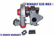 RENAULT CLIO MK3 MK III TURBO CHARGER HATCHBACK 2010 - 2015 BRAND NEW