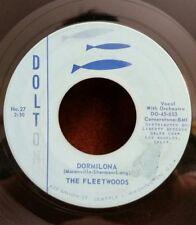 """Fleetwoods Dolton 27 """"DORMILONA""""      (GREAT DOO WOP)       MAKE OFFER"""