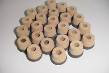 Package Of 25 petite cork fighting butts with eva bottoms