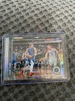 2019-20 NBA HOOPS PREMIUM STOCK LUKA DONCIC COURTSIDE SILVER PRIZM #14 🔥📈