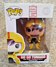 Funko Pop Big Hero 6 Go Go Tomago Pop! Vinyl Figure #107 Vinyl Action Figure New