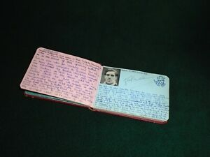 WEMBLEY Speedway - Vintage Supporters Autograph Book - 1950s