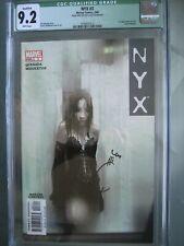 NYX #3 CGC 9.2 WP **Signed Joe Quesada** 1st app X-23 (Laura Kinney)