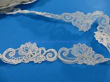 2 Yards 4cm Vintage Venise Lace Trim Applique Costume DIY Sewing Crafts Off