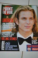 POINT DE VUE N°2870 2003 // ANDREA MONACO ROLLING STONES COMTESSE DE PARIS