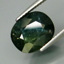 5.82 Carats Natural Greenish Blue SAPPHIRE for Jewelry Setting Oval Cut