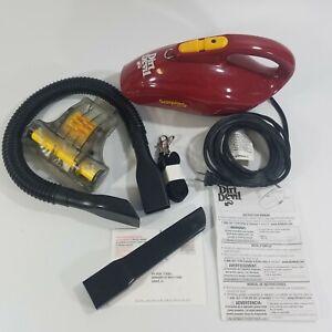 Dirt Devil Scorpion Turbo w/ Bonus Power Brush Corded Hand Held Vacuum Powerful!