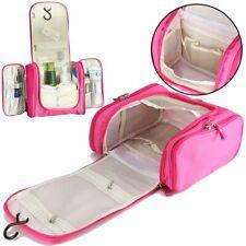 Men Women Travel Wash Bag Toiletry Organizer Pouch Shaving Cosmetic MakeUp Case