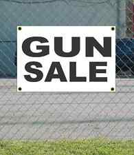 2x3 GUN SALE Black & White Banner Sign NEW Discount Size & Price FREE SHIP