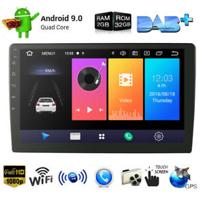 2 Din 9 Inch Android 9.0 Universal Car Radio Double Din Stereo Gps Navigation