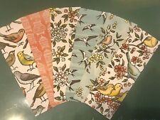 6 BIRDS Ballard DSP Watcher Book Markers Stampin Up! Bookmarks Book HC 💕 Gift
