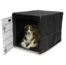 Mid West Quiet Time Polyester Crate Cover 36 Inch Black. **Free Shipping**