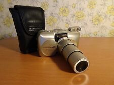 Olympus MJU II Zoom 170 All Weather 35mm Film Camera with Official Case