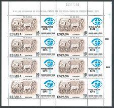ESPAÑA - AÑO 1984 - MINIPLIEGO ESPAÑA´84 -Ed. MP. 2 - NUEVO SIN FIJASELLOS - MNH