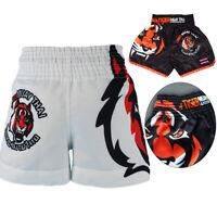 Sports Shorts Muay Thai Pants Kick Boxing Tiger Trunks MMA Gear Training Pants
