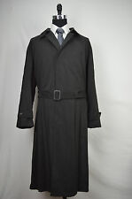 7261 LAUREN RALPH LRL NWOT MENS BLACK TWO PIECE TRENCH COAT SIZE 46R