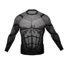 HighType Danger Long Sleeve Rash Guard BJJ MMA Fightwear  NEW design!